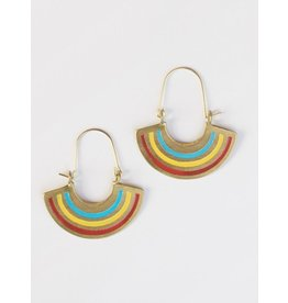 Earrings Petite Rainbow, India