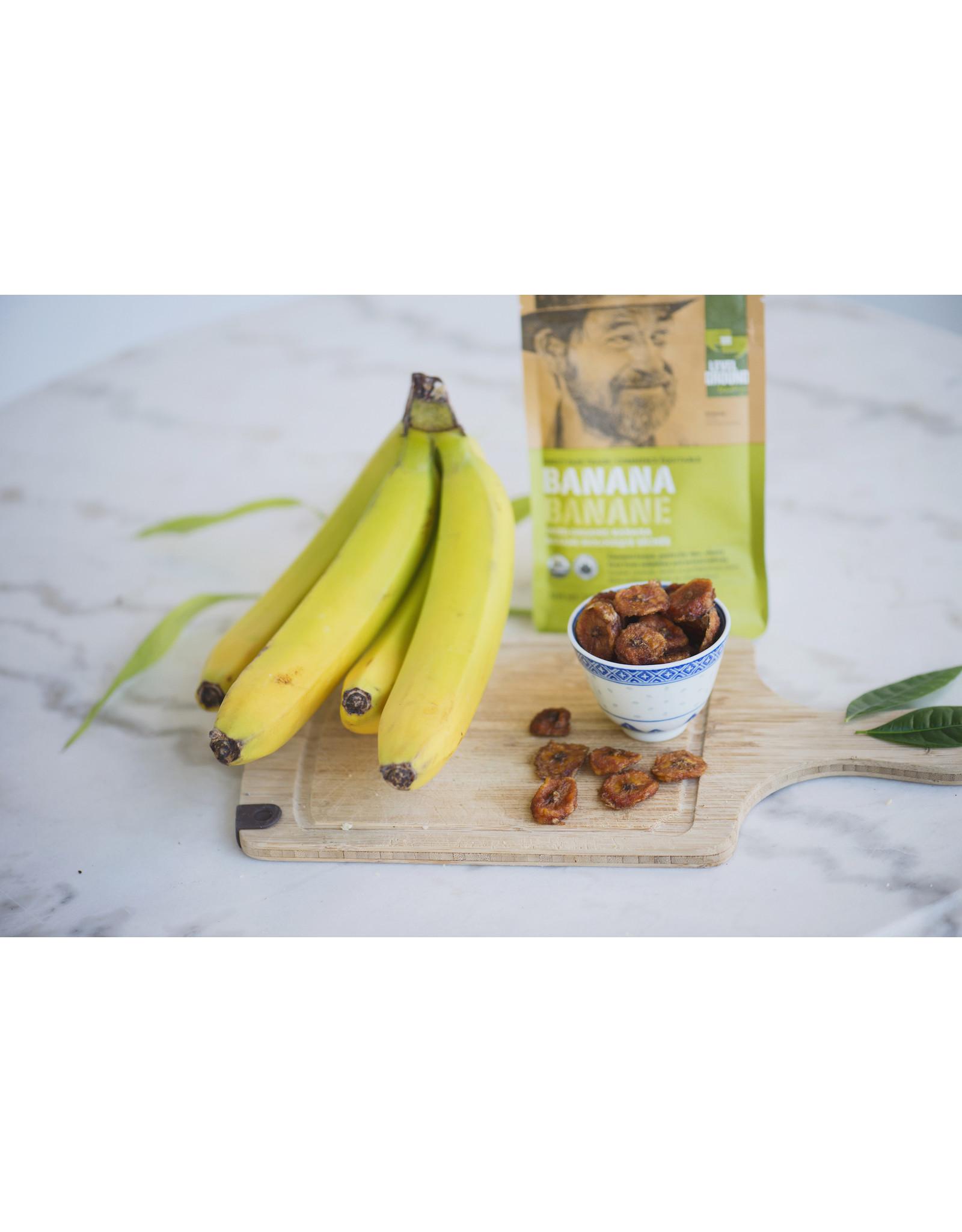 Level Ground Trading Premium Organic Dried Banana