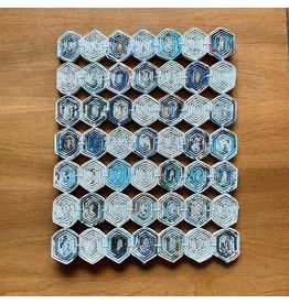 Ten Thousand Villages Coiled Paper Trivet (L)