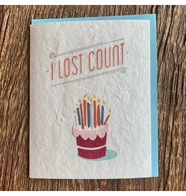 Ten Thousand Villages Birthday Candles Card