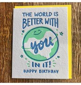Ten Thousand Villages World Birthday Card