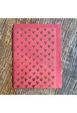 Ten Thousand Villages Golden Heart Card