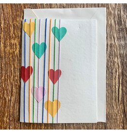 Ten Thousand Villages Heart Greeting Card