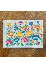 Ten Thousand Villages Field Of Flowers Card