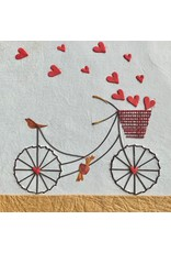 Ten Thousand Villages Petal Pusher Bicycle Card