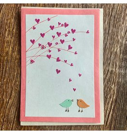 Ten Thousand Villages Hearts And Boughs Card