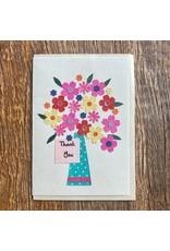 Ten Thousand Villages Thank You Bouquet Card