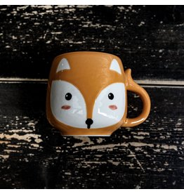 Ten Thousand Villages Mini Fox Ceramic Mug