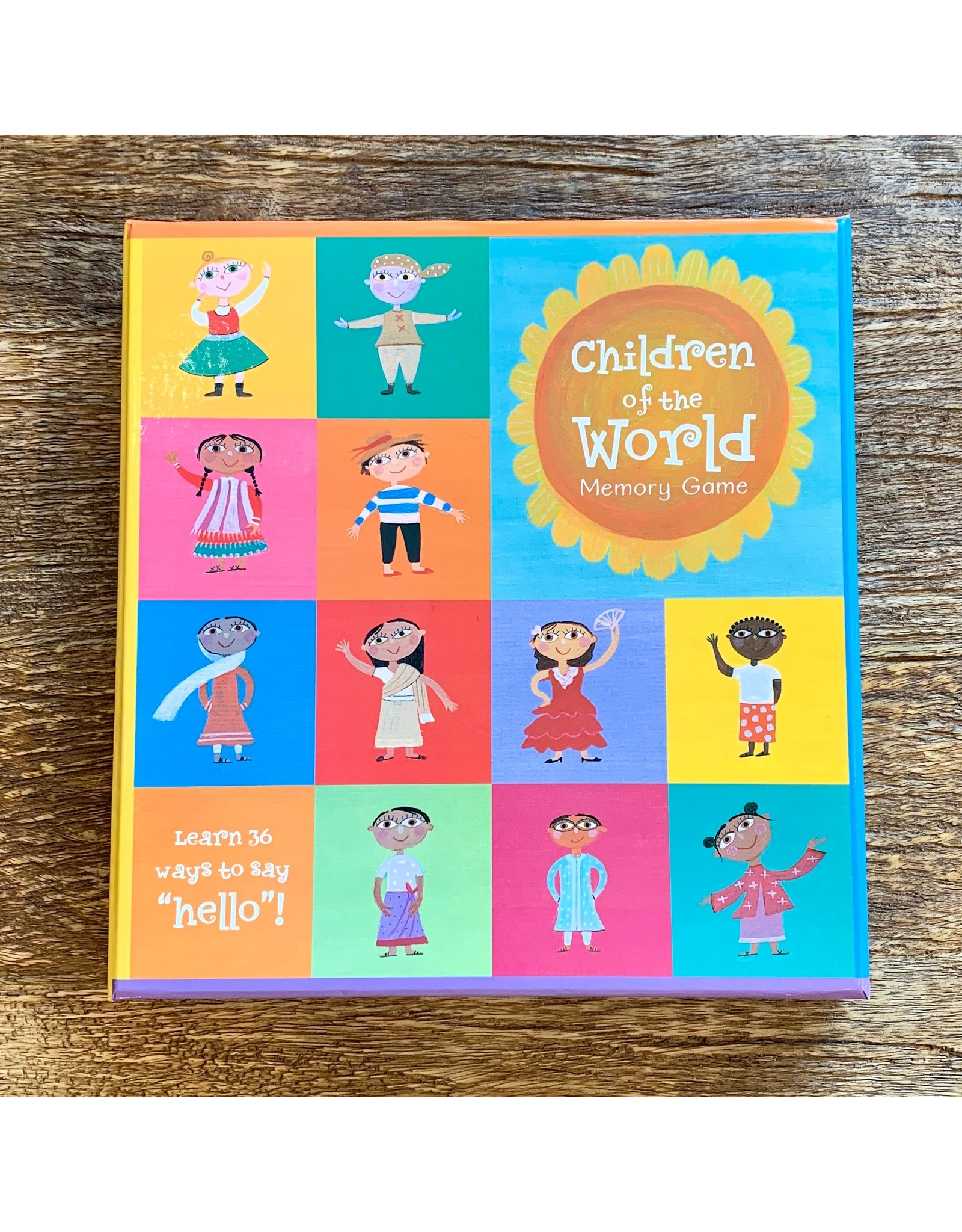 Ten Thousand Villages Children of the World Memory Game