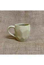 Ten Thousand Villages Taupe Octogon Stoneware Mu