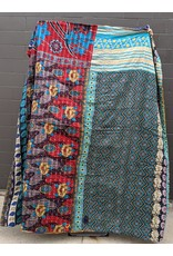 Ten Thousand Villages One of a Kind Queen Size Sari Duvet Cover