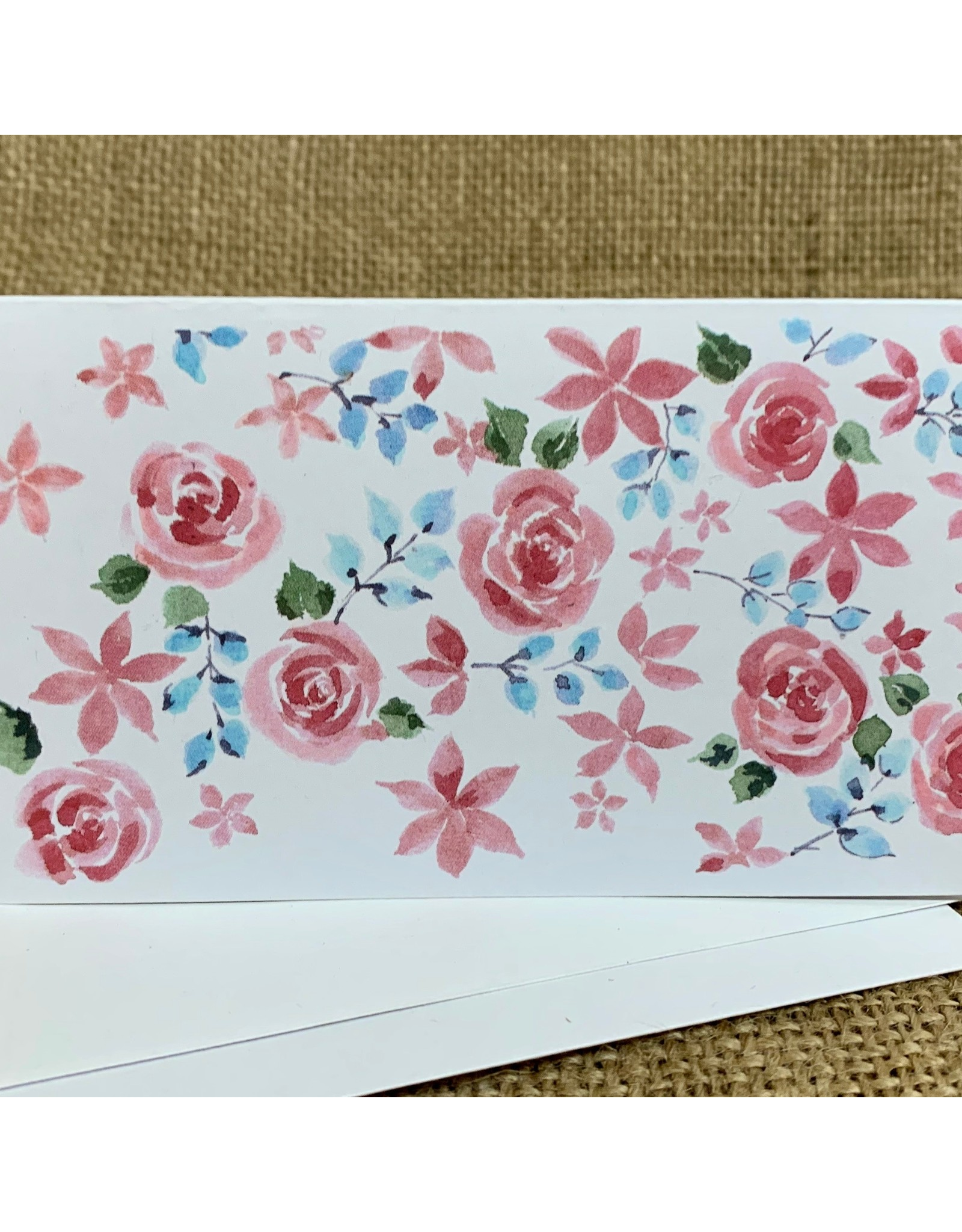 Ten Thousand Villages Pretty Pastels Floral Greeting Cards (set of 2)
