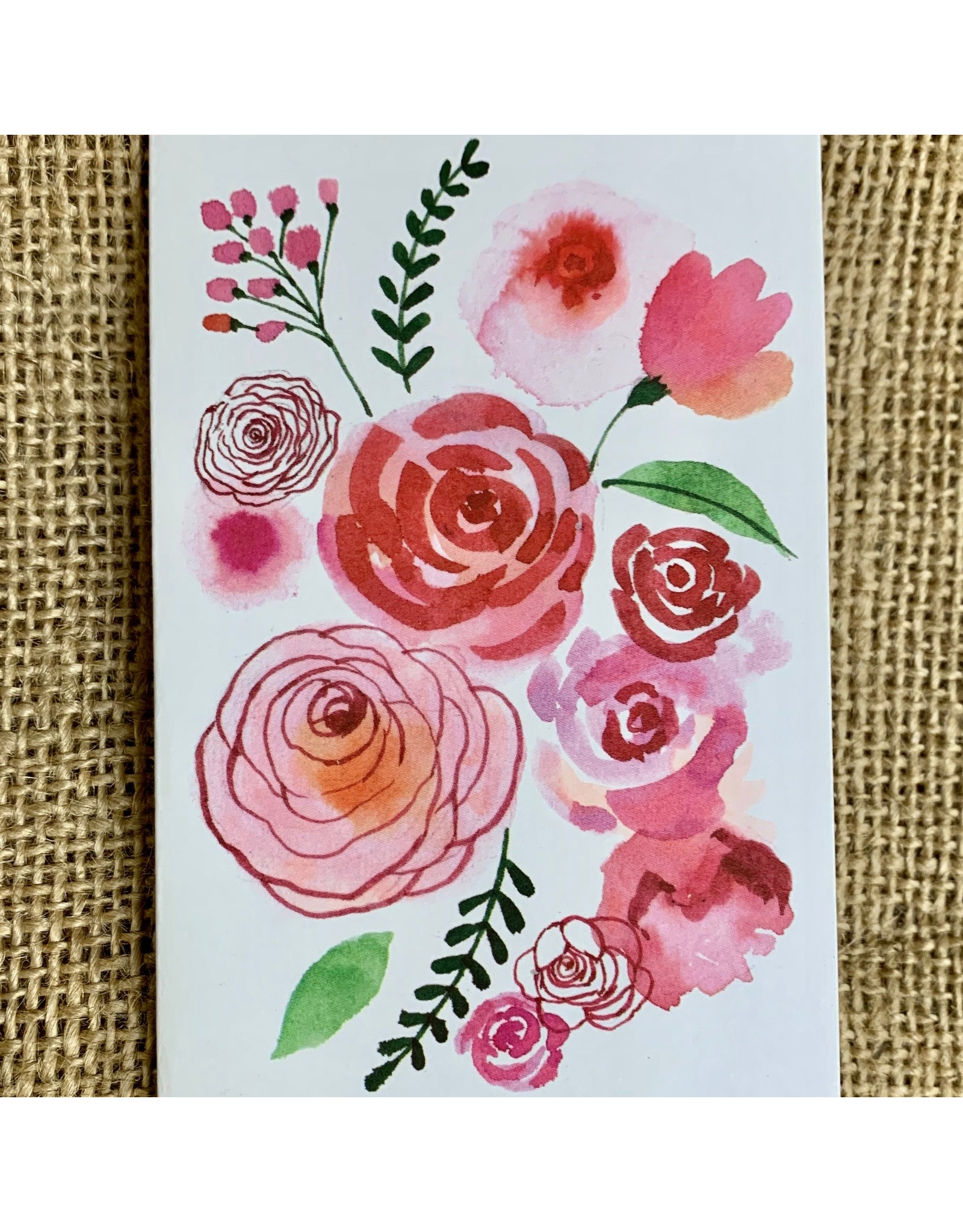Ten Thousand Villages Beautiful Brights Floral Greeting Cards (set of 2)