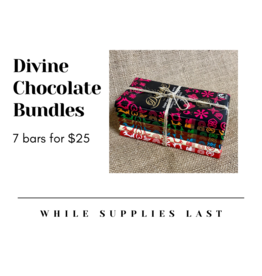 Divine Divine Chocolate Bundle (7 bars!)