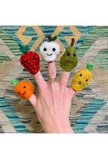 Ten Thousand Villages Fruit Bag Finger Puppets