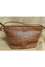 Ten Thousand Villages Basketweave Eco Leather Purse