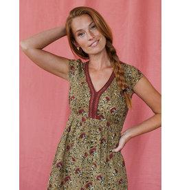 Jaya  Turmeric Dress