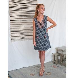Shefali Geo Tiles Shift Dress