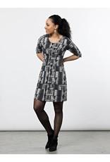 Annabelle Dress Black Geo