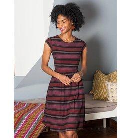 Dress Devonshire Plum Stripe M