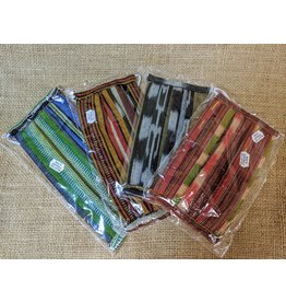 Lucia's Imports Ikat Cotton Facemasks, assorted