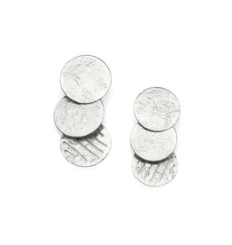 Matr Boomie Nihira Silver Coin Earrings, India