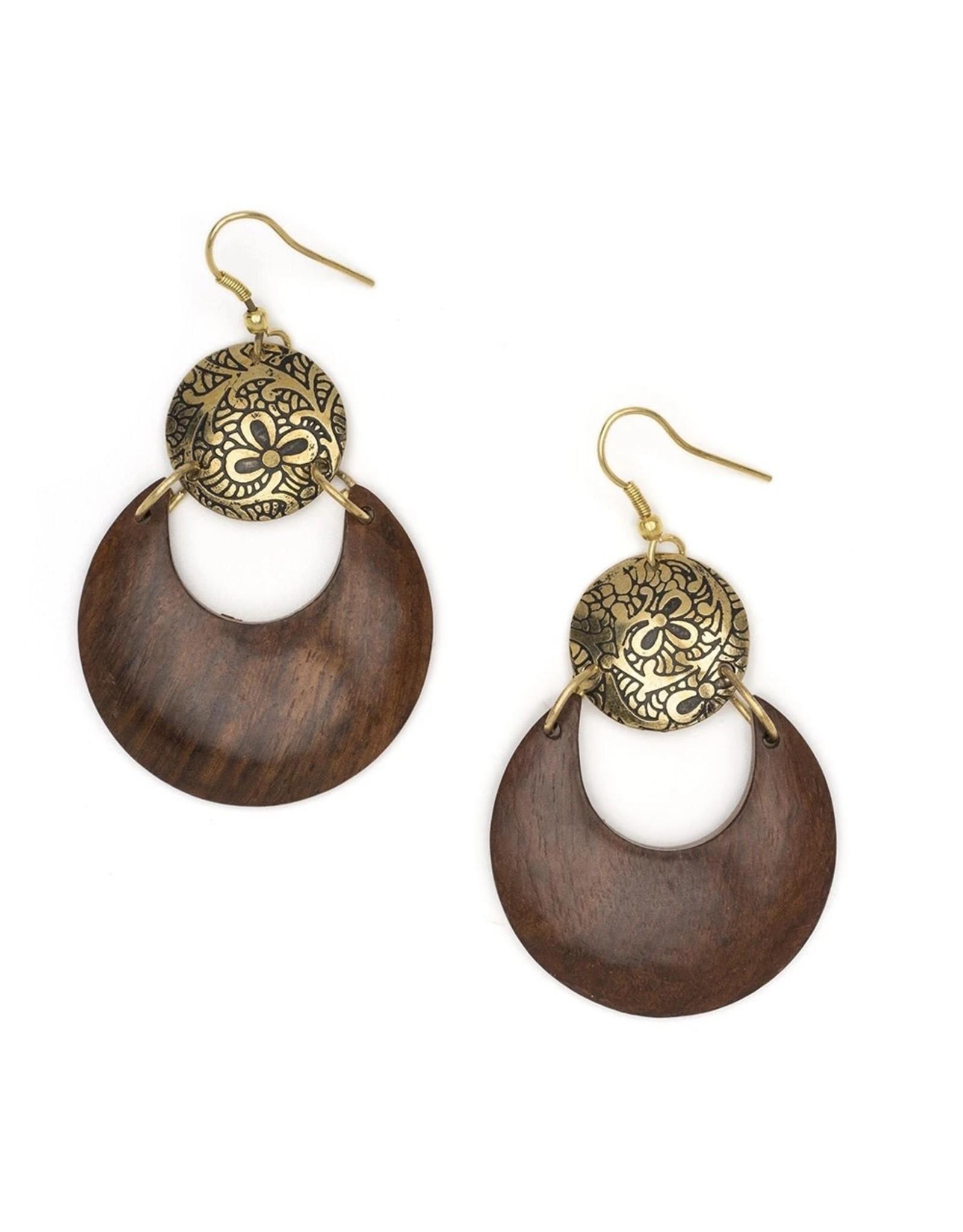 Matr Boomie Lunar Earrings, India