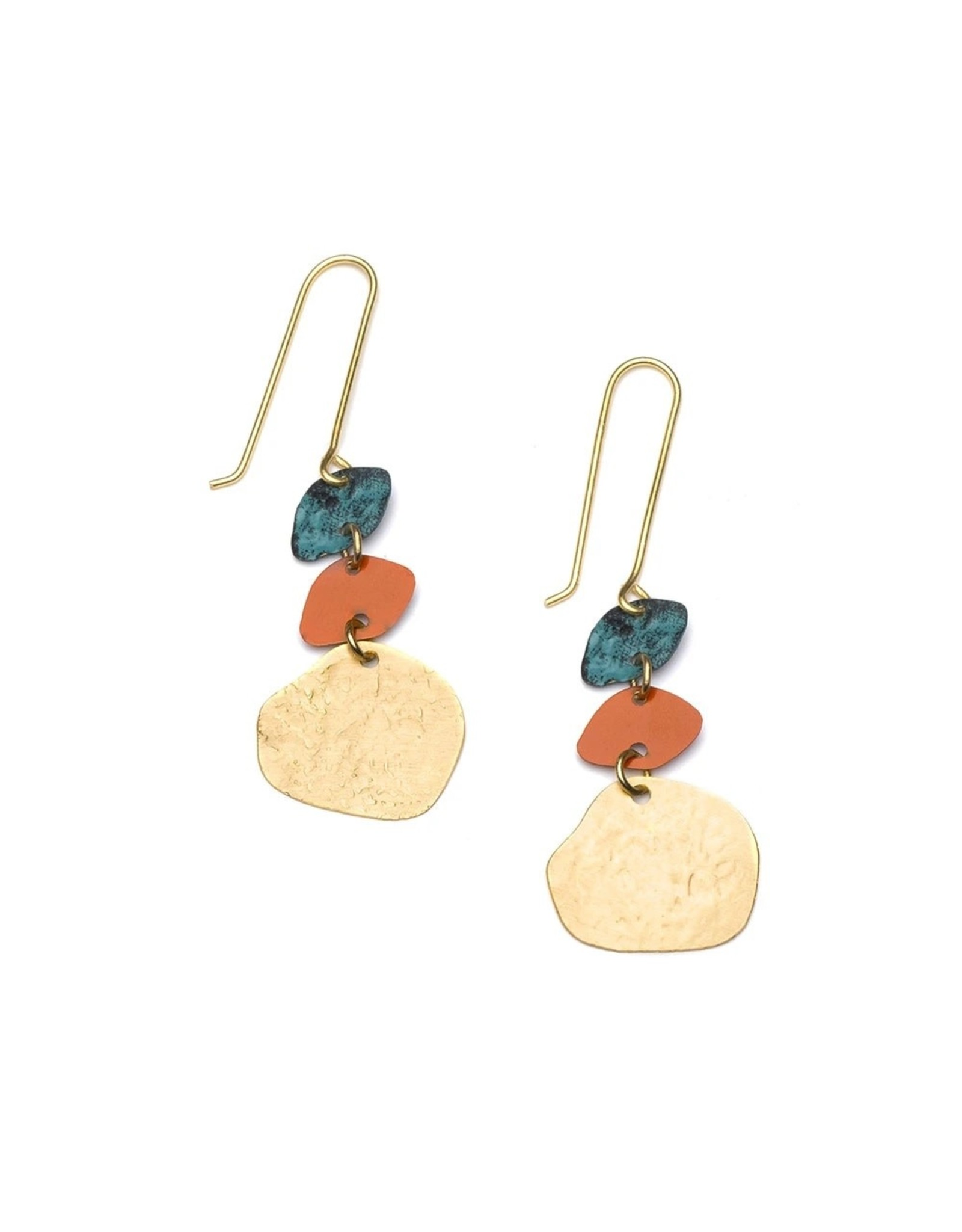 Matr Boomie Nihira Multi Drop Earrings