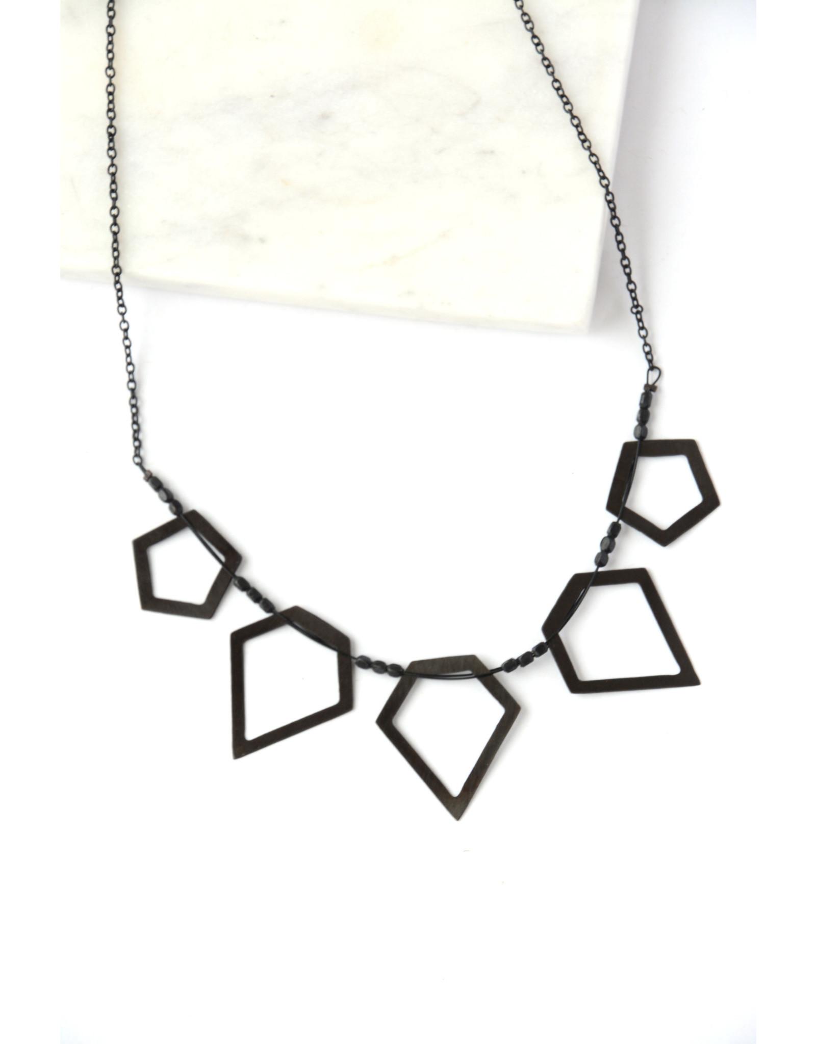 Fair Anita Cloudy Night Necklace