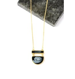 Fair Anita Midnight Pendant Necklace