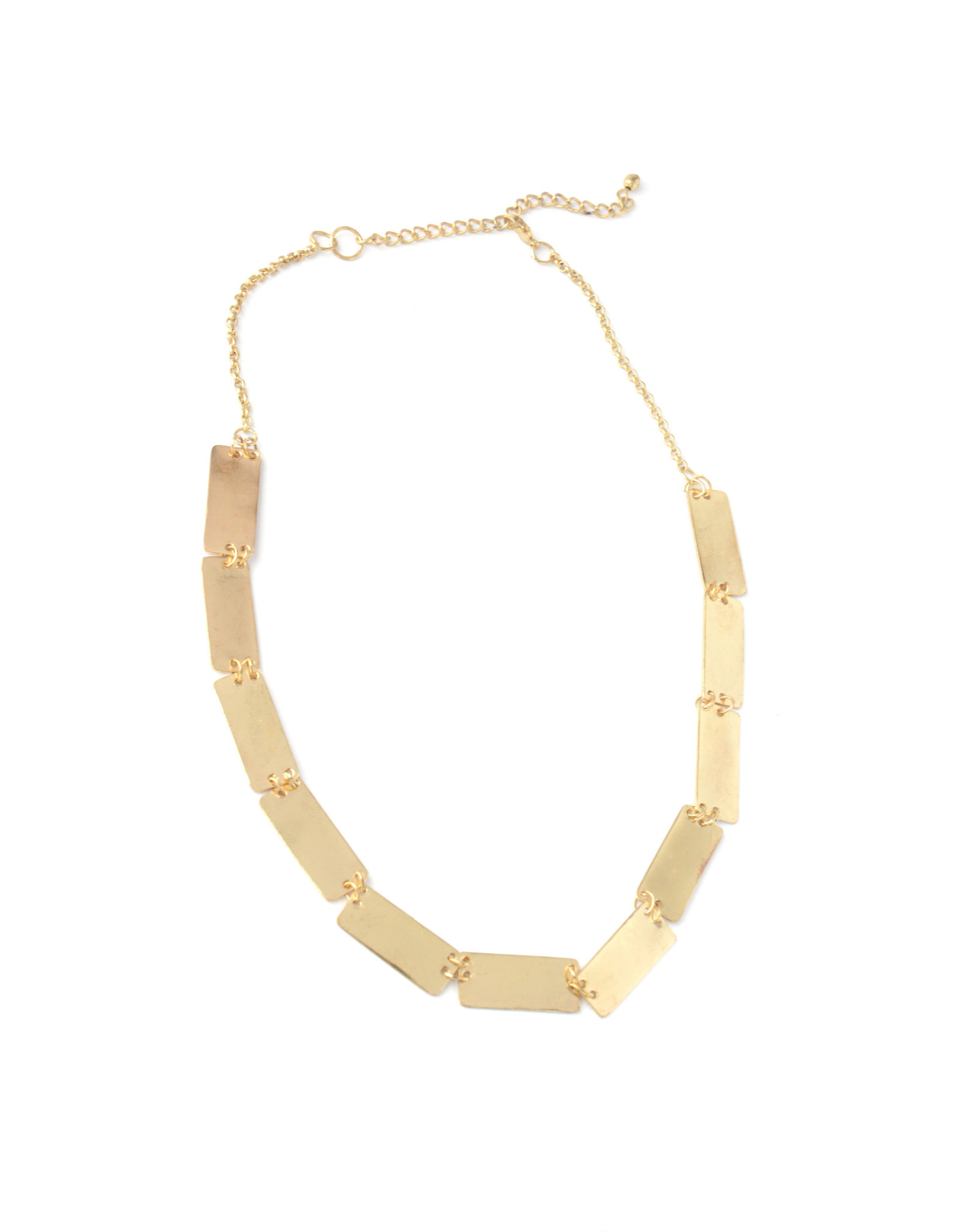 Fair Anita CLEARANCE  Pretty Pathways Brass Necklace, India