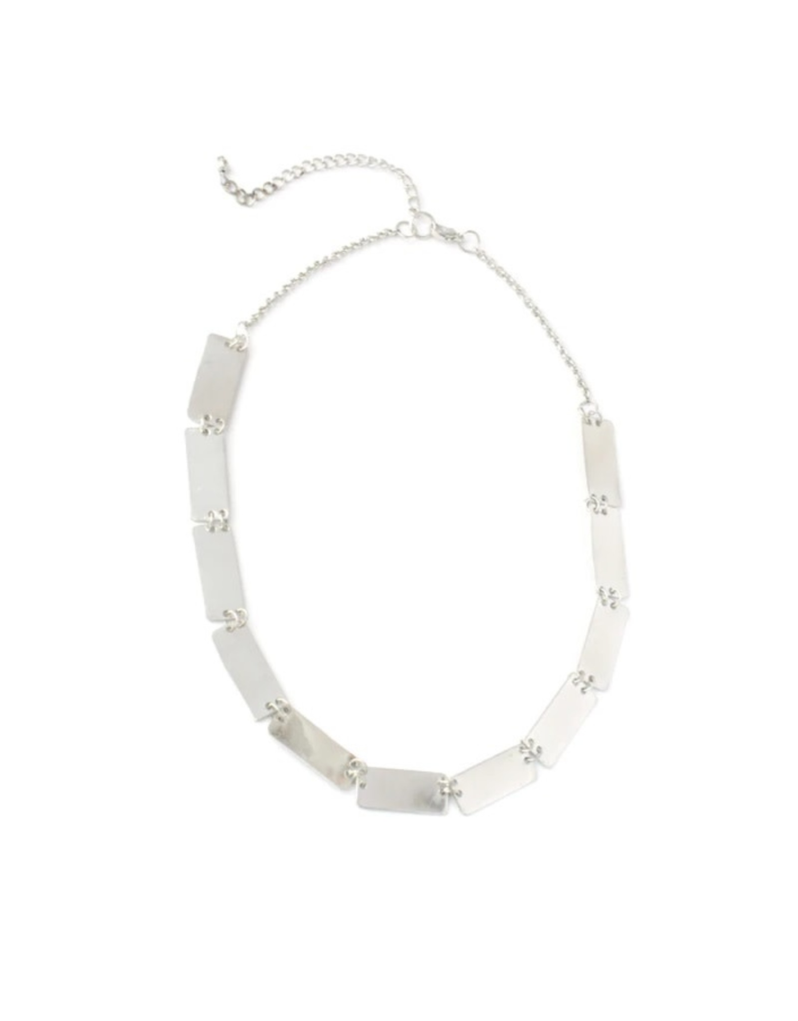 Fair Anita CLEARANCE Pretty Pathways Necklace, Silver. India
