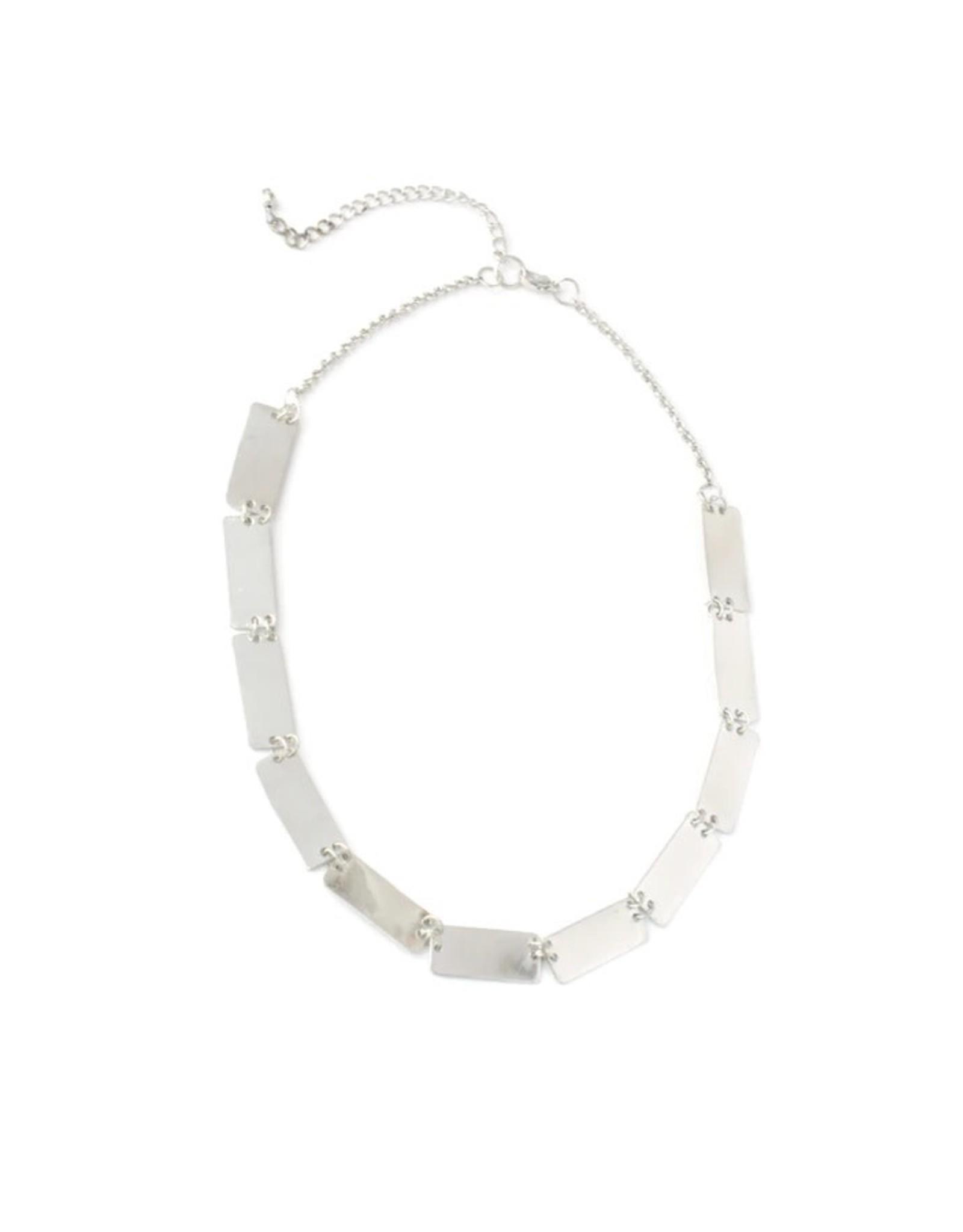 Fair Anita Pretty Pathways Necklace, Silver