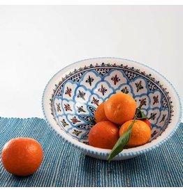 """Sobremesa Medium Rosette Bowl, 10""""/25cm D, Tunisia"""