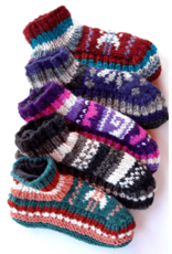 Ganesh Himal Knit Slipper, Lined, Assorted, Nepal