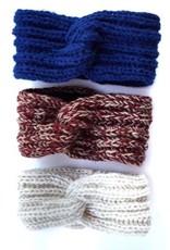 Ganesh Himal Rib Knit headband, assorted