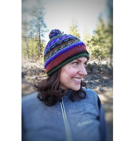 Ganesh Himal Patterned Knit Hat, Assorted, Nepal