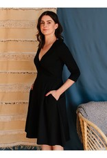 Long Sleeve Callie Wrap Dress