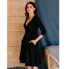 Long Sleeve Callie Wrap Dress