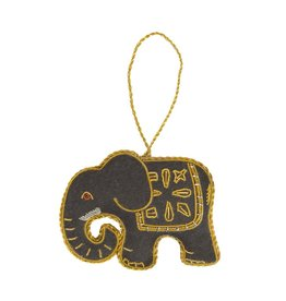 Matr Boomie Larissa Plush Elephant Ornament