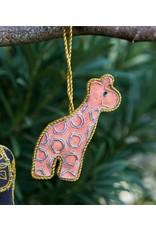 Matr Boomie CLEARANCE  Larissa Plush Giraffe Ornament