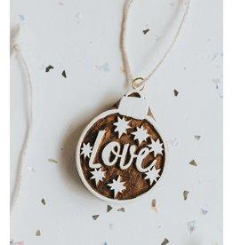 Matr Boomie Hima Bindu Love Ornament