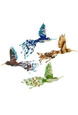 Lucia's Imports Large Beaded Hummingbird Ornament, Guatemala