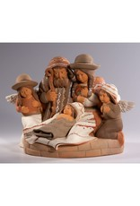 Lucuma Holy Family & Angels Nativity, Peru