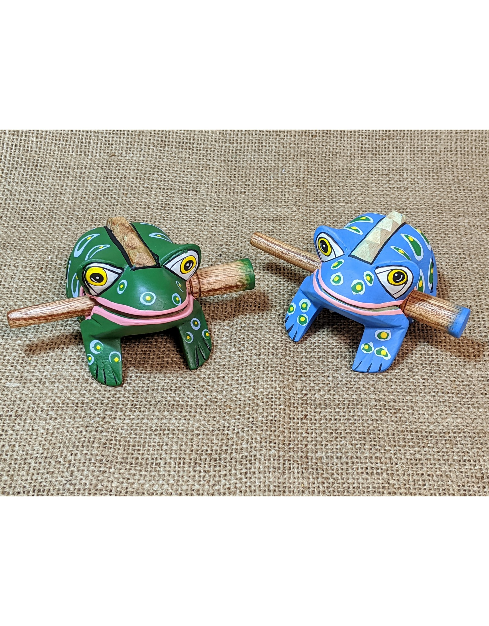 Ten Thousand Villages Frog Scraper