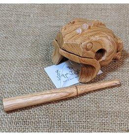 Jamtown Wooden Frog Scraper