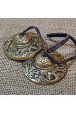 Ten Thousand Villages Brass Dragon Cymbals