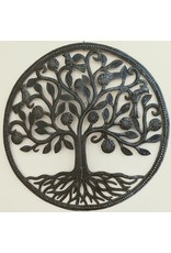 Ten Thousand Villages Giving Tree Metal Wall Hanging, Haiti