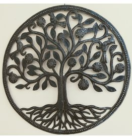 Ten Thousand Villages Giving Tree Metal Wall Hanging