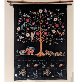 Ten Thousand Villages Midnight Tree Wall Hanging